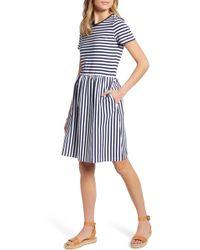 9f1c5a81080 Lyst - Nordstrom 1901 Sweater Dress in Blue