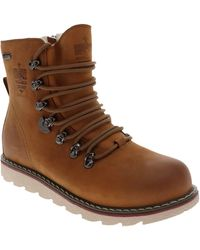 Royal Canadian Caledon Waterproof Lace-up Boot - Brown