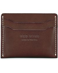 Red Wing - Leather Card Case - Lyst