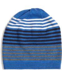Eileen Fisher - Hat (midnight) Caps - Lyst