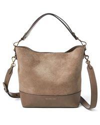 Polo Ralph Lauren Small Sullivan Bucket Bag - - Brown