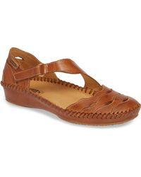 Pikolinos - Puerto Vallarta Asymmetrical Sandal - Lyst
