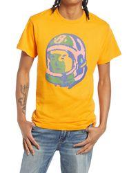 BBCICECREAM Men's Bb Spectrum Graphic Tee - Orange