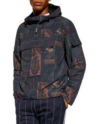 TOPMAN Paisley Windbreaker Jacket - Multicolour
