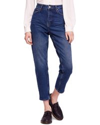 Free People - We The Free By Mom Ankle Jeans - Lyst
