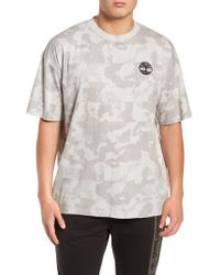 Timberland - Disruptive Crewneck T-shirt - Lyst