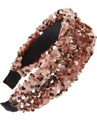 BP. Sequin Headband - Pink