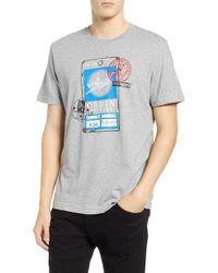 Psycho Bunny - Radcot Graphic T-shirt - Lyst