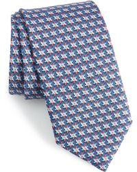 Vineyard Vines Pinwheel Silk Tie - Blue