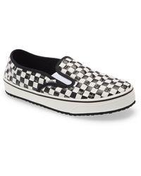 Vans Checkered Slip-on - Black