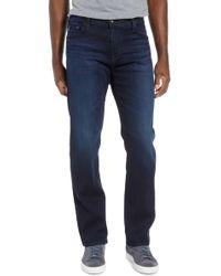 AG Jeans Graduate Slim Straight Leg Jeans - Blue