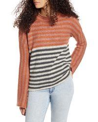 Rip Curl Fall Back Stripe Sweater - Multicolour
