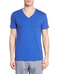 Polo Ralph Lauren - Lounge V-neck T-shirt - Lyst