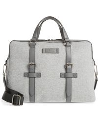 00eb8d679f3c2d Lyst - Ted Baker Piranha Briefcase in Red for Men