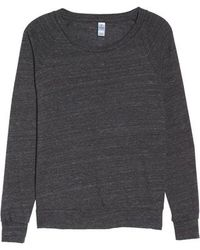 Alternative Apparel - Slouchy Pullover - Lyst