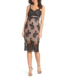 Bronx and Banco | Camilla Lace Sheath Dress | Lyst