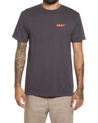 ROKIT Men's The World Is Yours Graphic Tee - Gray