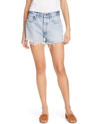 Moussy - Mathews Denim Shorts - Lyst