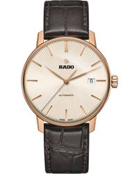 Rado - R22861115 Coupole Classic Rose Gold Watch - Lyst