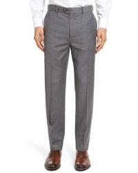 Bensol - Gab Trim Fit Flat Front Pants - Lyst