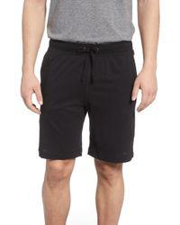 Daniel Buchler Peruvian Pima Cotton Shorts - Black