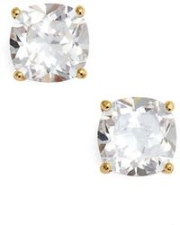 Kate Spade - Mini Square Stud Earrings - Lyst