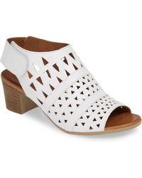 Sheridan Mia - Tamsie1 Perforated Sandal - Lyst