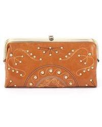 Hobo | Lauren Studded Leather Wallet | Lyst