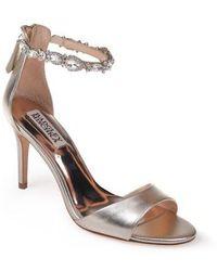 Badgley Mischka - Sindy Ankle Strap Sandal - Lyst