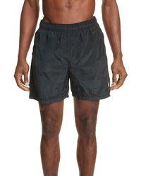 Stone Island - Nylon Shorts - Lyst
