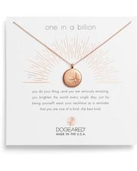 Dogeared | One In A Million Pendant Necklace | Lyst