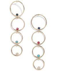 BaubleBar - Lucienne Hoop Earrings - Lyst