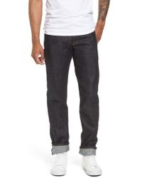Naked & Famous - Weird Guy Slim Fit Street Fighter Sonic Boom Selvedge Jeans - Lyst