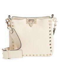 Valentino - Rockstud Mini Hobo Crossbody Bag - - Lyst