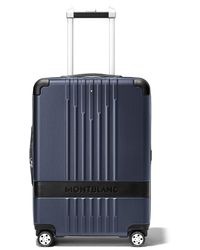 Montblanc My4810 21-inch Cabin Compact Carry-on - Blue