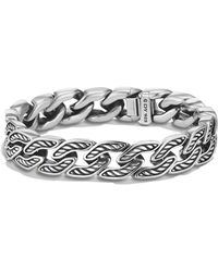 David Yurman - 'maritime' Curb Link Bracelet - Lyst