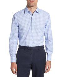 BOSS - Marley Sharp Fit Plaid Dress Shirt - Lyst