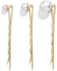 BaubleBar - Aida Set Of 3 Hairpins - Lyst