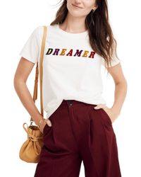 Madewell - Dreamer Graphic Tee - Lyst
