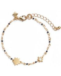 Rebecca Minkoff - Sole Beaded Bracelet - Lyst