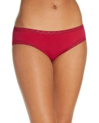Natori - Bliss Cotton Girl Briefs - Lyst