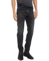 AG Jeans Tellis Slim Fit Jeans - Black