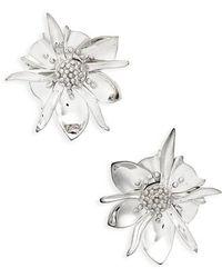 Meadowlark - Large Wildflower Stud Earrings - Lyst
