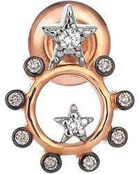 Kismet by Milka - Eclectic Star Diamond Earring - Lyst