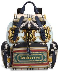 Burberry - Medium Archive Scarf Print Rucksack - - Lyst