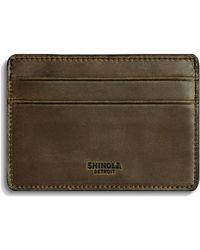 Shinola - Leather Card Case - Lyst