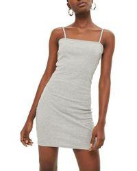 TOPSHOP - Jersey Body-con Minidress - Lyst