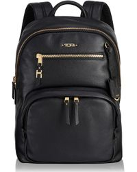 Tumi - Voyageur Carson Leather Backpack - Lyst