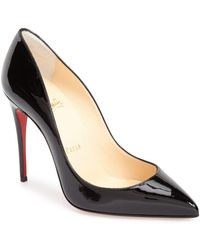 Christian Louboutin - Pigalle Follies Pointy Toe Pump - Lyst
