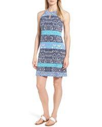 Tommy Bahama - Mayan Maze Halter Dress - Lyst
